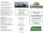 City of Greenfield Flyer